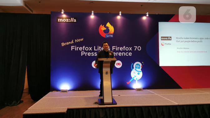 Stan Leong, Vice President & General Manager, Emerging Markets di Mozilla. (Liputan6.com/ Mochamad Wahyu Hidayat)