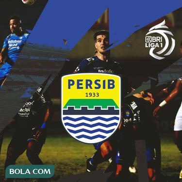Liga 1 - Ilustrasi Logo Persib Bandung BRI Liga 1