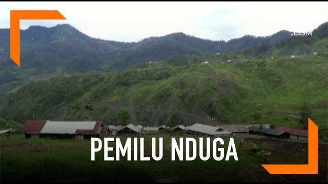 Rawan teror penembakan dari kelompok kriminal bersenjatan (KKB) pimpinan Egianus Kogoya di Nduga, KPU Papua memindahkan 32 lokasi TPS ke Ibu Kota Kabupaten Nduga.