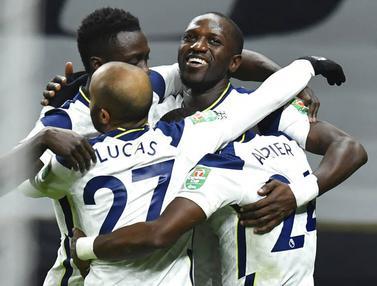 FOTO: Tundukkan Brentford, Tottenham Hotspur Melaju ke Final Piala Liga Inggris