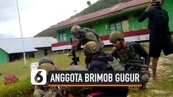 VIDEO: Baku Tembak di Papua Terjadi Lagi,Seorang Anggota Brimob Gugur