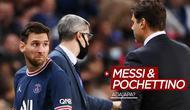 Berita video Pelatih PSG, Mauricio Pochettino, mengungkapkan percakapan yang terjadi antara dirinya dengan Lionel Messi saat La Pulga ditarik keluar, Minggu (19/9/2021).