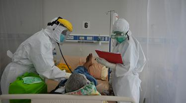 FOTO: Mengintip Penanganan Pasien COVID-19 di Bogor