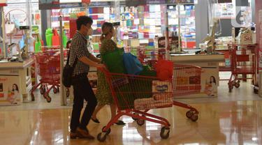 Inflasi pasar ritel supermarket