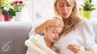 Ilustrasi Sakit Flu dan Demam (iStockphoto)