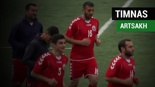 Berita video cerita singkat tentang Artsakh, timnas di benua Eropa yang tak punya tim lawan.