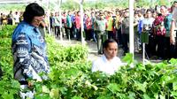 Presiden Jokowi di peringatan Hari Pers Nasional (HPN) 2020, Sabtu (8/2/2020). (Biro Pers Istana)