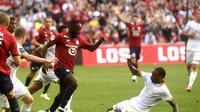 Lille VS OGC Nice, OGC Nice menang telak 4-0 pada pertandingan yang dilaksanakan Sabtu (14/08/2021). (Foto: News in 24)