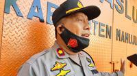 Kabag Ops Polresta Mamuju Kompol M Imbar (Foto: Liputan6.com/Abdul Rajab Umar)