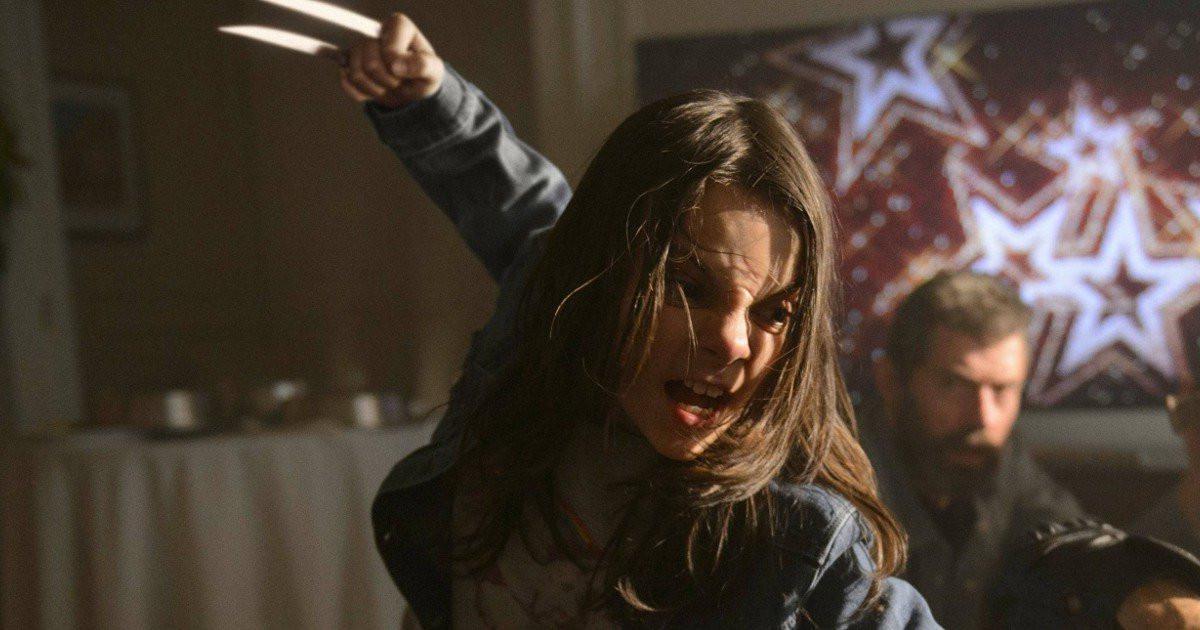 Mengenal Laura, Wolverine kecil yang mahir bertarung di film Logan. (Via: Cinema Runner)