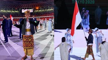 6 Potret Rio Waida, Atlet Pembawa Bendera RI di Pembukaan Olimpiade Tokyo 2020