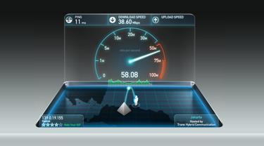 Ilustrasi Internet, Kecepatan Internet. Liputan6.com/Mochamad Wahyu Hidayat. Kredit: Ookla Speedtest