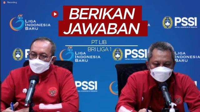 Cover Berita Video Alasan PT LIB Belum Lengkapi Jadwal dan Venue Pertandingan BRI Liga 1