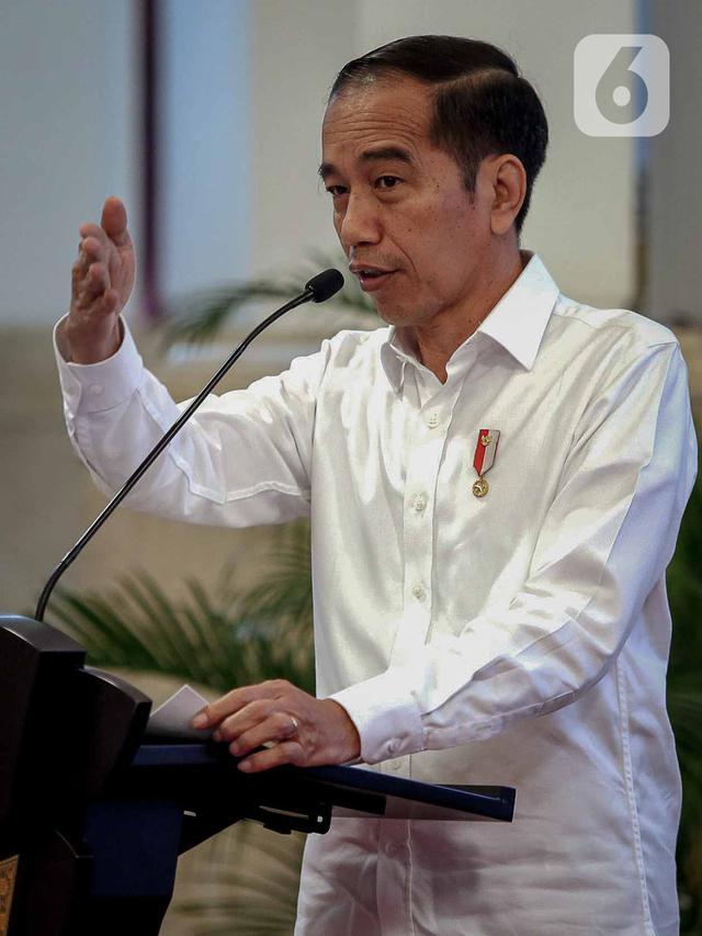 Jokowi Buka Raker Kementerian Perdagangan 2020