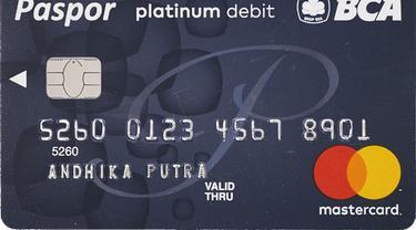 Kartu ATM BCA Platinum