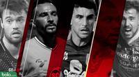 5 Pemain Amerika Latin di Liga 1 2018 (Bola.com/Adreanus Titus)