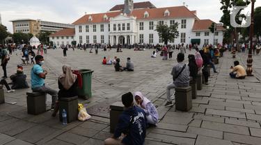 FOTO: Menikmati Libur Paskah di Kawasan Kota Tua Jakarta