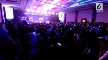 Ratusan penonton antusias hadiri XYZ Day 2018 Awards yang dihadiri para konten kreator dan selebritas.