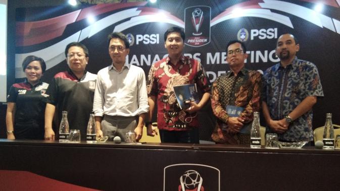 Maruarar Sirait menjadi Ketua Steering Committee (SC) Piala Presiden 2019 (Cakrayuri Nuralam)