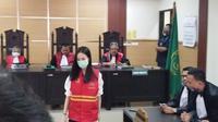 Aurelia Margaretha penabrak lansia di Tangerang divonis 5 tahun penjara. (Liputan6.com/Pramita Tristiawati)
