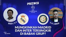 Berita video prediksi Real Madrid akan hadapi Inter Milan di matchday ketiga Liga Champions 2020/2021