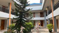 Hotel Grand Elty di tenggarong disiapkan untuk mengisolasi pelajar dan mahasiswa yang pulang dari daerah terjangkit. (Foto: Pemkab Kukar)