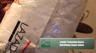 Bagaimana akhir kasus dari beli iPhone dapat sabun batangan di Lazada? Ini penjelasan pihak Lazada Indonesia..
