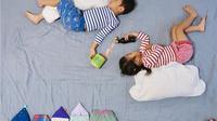 Super Kreatif, Ibu Ini Mengubah Waktu Tidur Anaknya menjadi Petualangan yang Menyenangkan