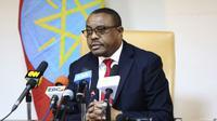 Perdana Menteri Ethiopia yang paling baru, Abiy Ahmed, yang dsebut sebagai pemimpin negara termuda di Afrika karena berusia 41 tahun. (AP Photo)