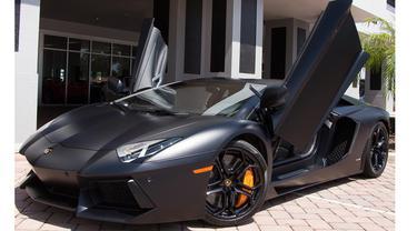 Lamborghini Aventador LP700-4 Black