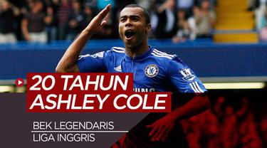 Berita video perjalanan karier Ashley Cole, bek kiri legendaris di Liga Inggris.