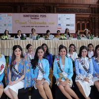Preskon Puteri Indonesia 2018 (Deki Prayoga/bintang.com)