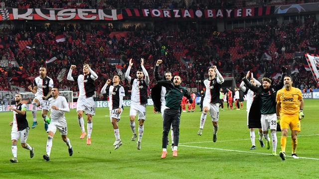 Gol Ronaldo dan Higuain Bawa Juventus Taklukkan Bayer Leverkusen