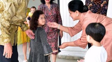 Sosok Gadis Cilik yang Ikut Sambut Jan Ethes di Keraton Yogyakarta