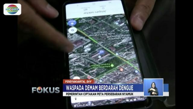 Pemerintah Kota Yogyakarta bekerja sama dengan lembaga asing membuat peta online penyebaran nyamuk Aedes Aegypti.