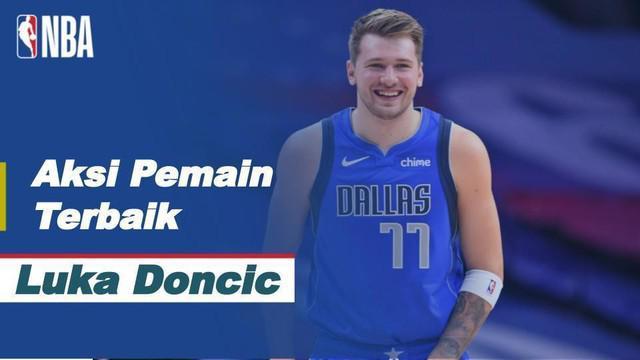 Berita Video Aksi-Aksi Keren Luka Doncic Saat Dallas Mavericks Kalahkan LA Clippers