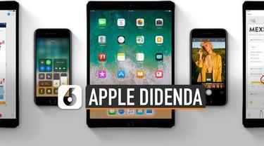 Regulator asal Perancis DGCCRF memberikan denda kepada Apple. Denda yang diberikan sebesar Rp 374 miliar performa iOS terbarunya.