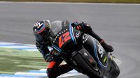 Pembalap Moto2, Francesco Bagnaia bertekad menembus kelas MotoGP musim 2019. (Toshifumi KITAMURA / AFP)