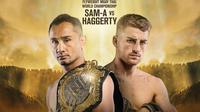 Juara dunia ONE Championship kelas Flyweight Muay, Sam-A Gaiyanghadao, akan pertahankan gelar melawan Jonathan Haggerty di Jakarta pada 3 Mei 2019.