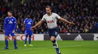 1. Harry Kane (Tottenham Hotspur) – 14 gol dan 4 assist (AFP/Ben Stansall)