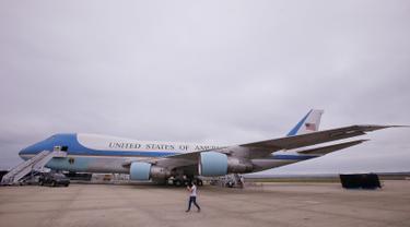 Kemegahan Pesawat Presiden Amerika Serikat