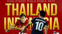 Kualifikasi Piala Dunia - Thailand Vs Indonesia - Jakkaphan Kaewprom Vs Adam Alis (Bola.com/Adreanus Titus)
