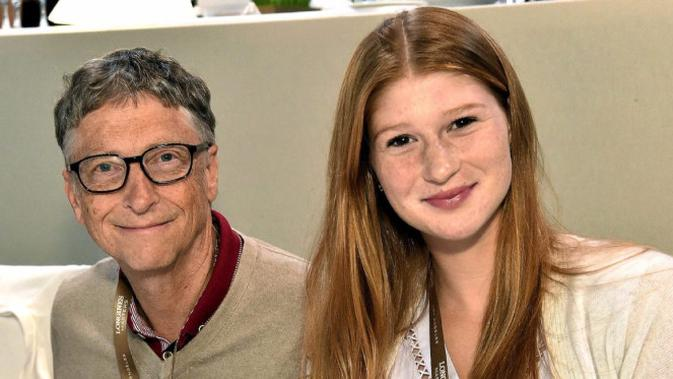 Bill Gates bersama putrinya, Jennifer. Dok: Business Insider