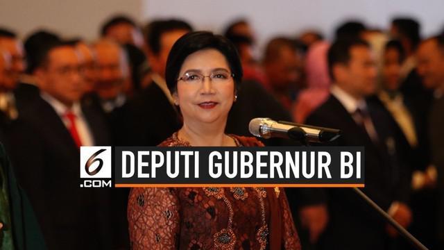 Mahkamah Agung lantik Destry Damayanti sebagai Deputi Gubernur Senior Bank Indonesia hari Rabu (7/8/2019). Destry Damayanti gantikan Mirza Adityaswara yang masa jabatannya sudah habis.