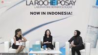 Peluncuran produk skincare La Roche Posay secara daring, Kamis, 3 Juni 2021 (Liputan6.com/Komarudin)