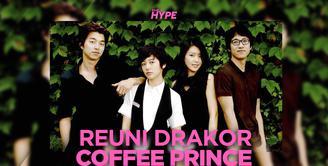 Serunya Reuni Pemain Coffee Prince, Ada Gong Yoo dan Yoon Eun Hye