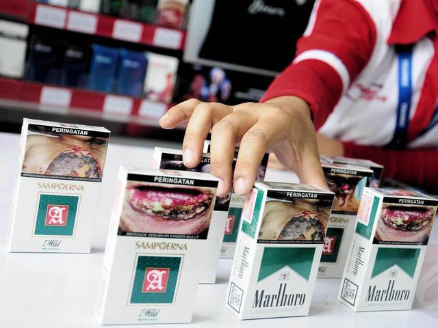 Gambar Seram Di Bungkus Rokok Tak Bikin Takut Perokok Health
