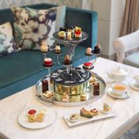 Sajian menu afternoon tea dari seluruh dunia dapat dinikmati di Fairmont Hotel Jakarta (Foto: Fairmont Hotel Jakarta)