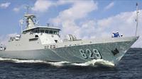 Kapal Cepat Rudal 60 KRI Tombak-629 betugas mengamankan perairan wilayah Indonesia Timur (istimewa)