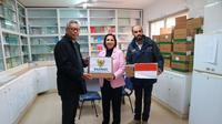Duta Besar RI untuk Yordania merangkap Palestina, Andy Rachmianto bersama Direktur Eksekutif Medical Aid for Palestinian (MAP), Maha Saqqa (9/1/2019) (kredit: KBRI Amman)